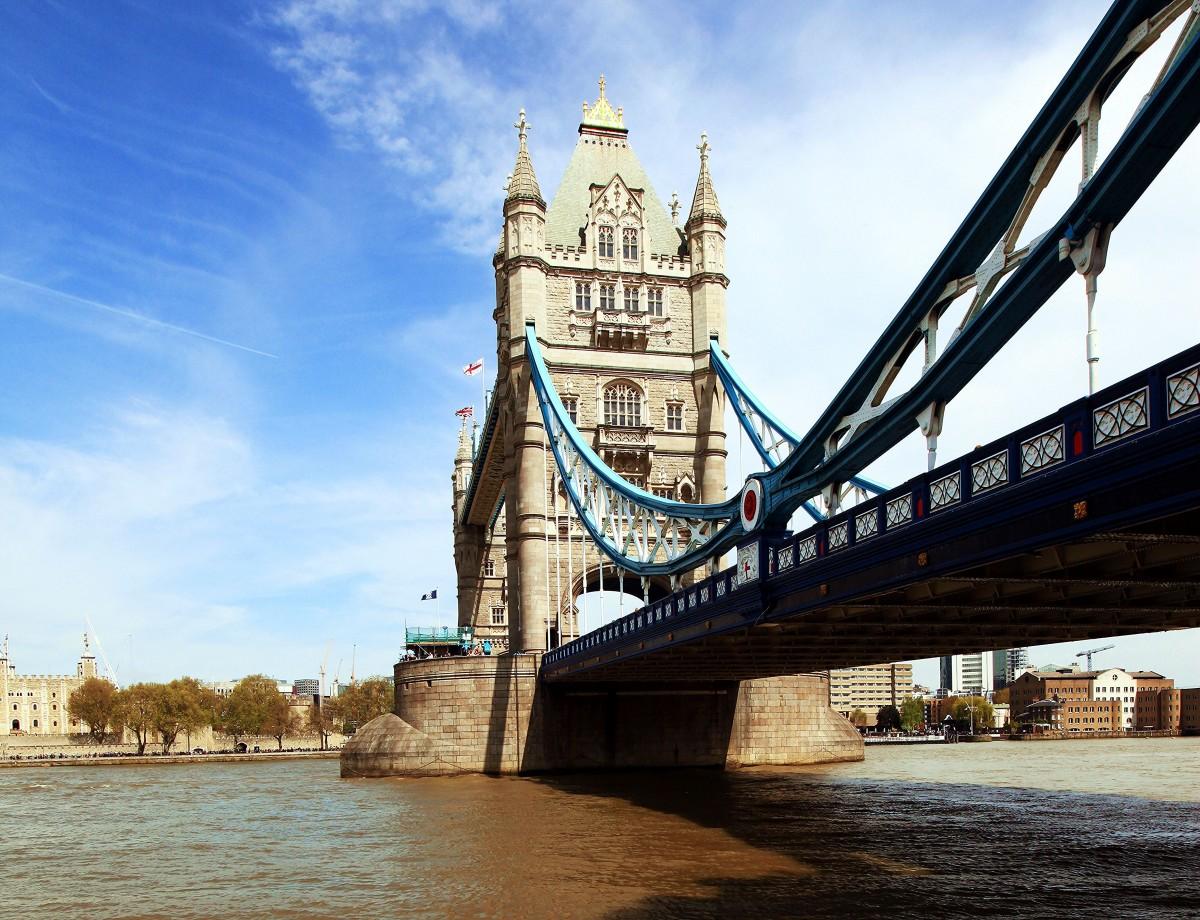 Zdjęcia:  Tamiza , Londyn, Tower Bridge, WIELKA BRYTANIA