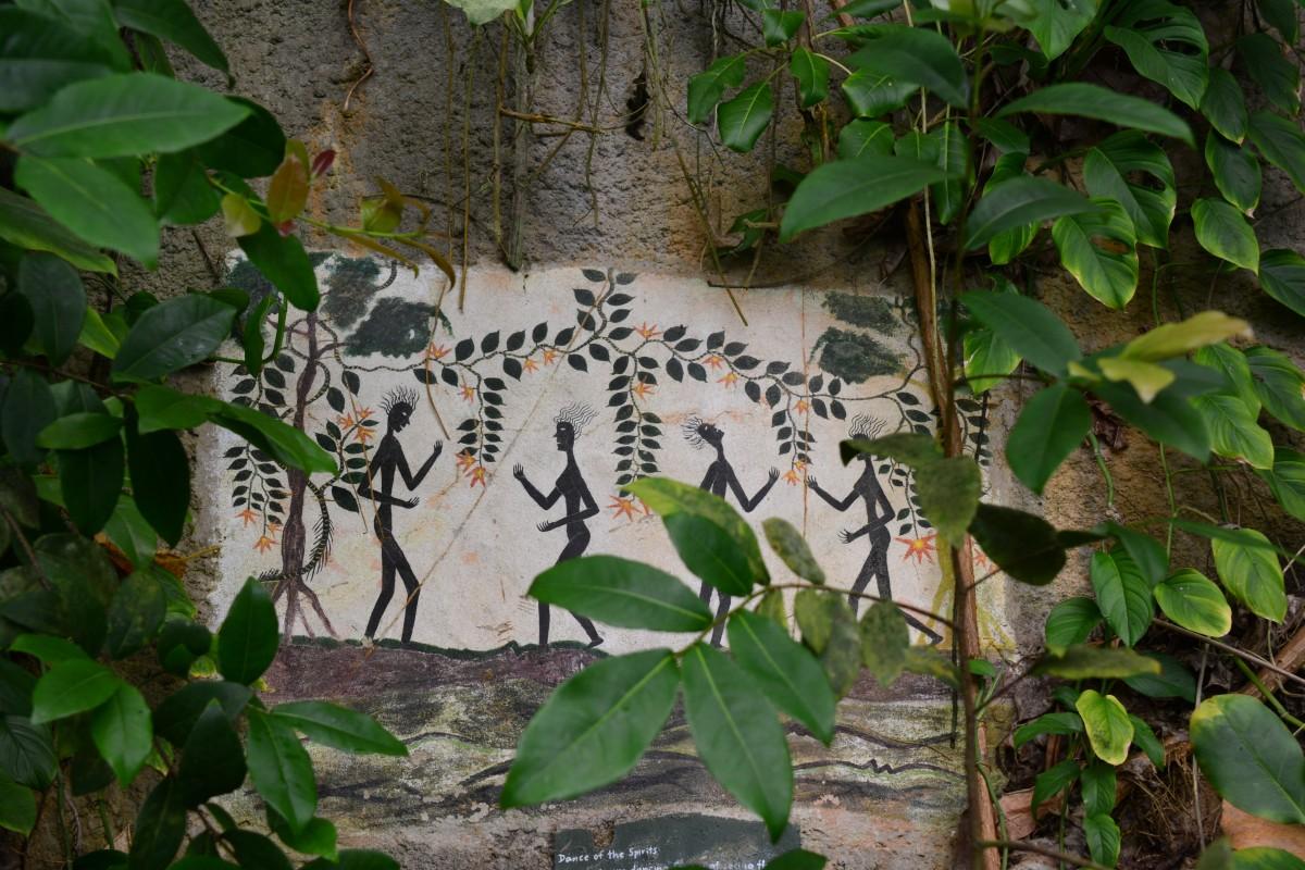 Zdjęcia: Bodelva, Cornwall, wspolczesna skalne rysunki, WIELKA BRYTANIA