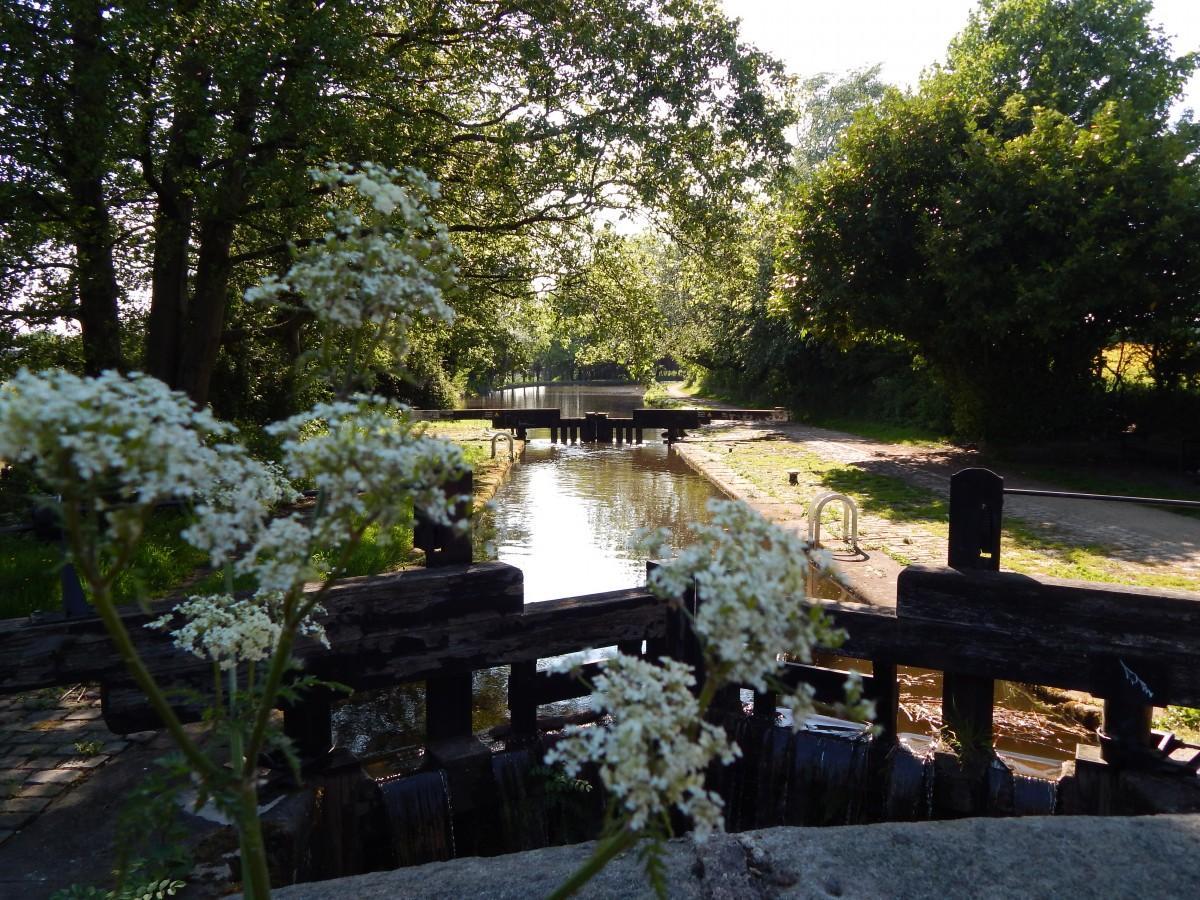 Zdjęcia: Greater Manchester, Północna Anglia, Rochdale Canal, WIELKA BRYTANIA