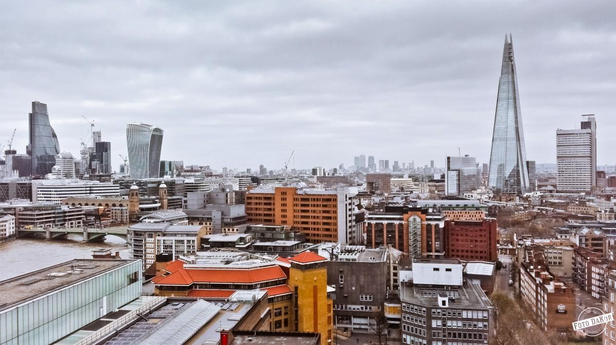 Zdjęcia: Tate Modern, London, Widok z Tate Modern, WIELKA BRYTANIA
