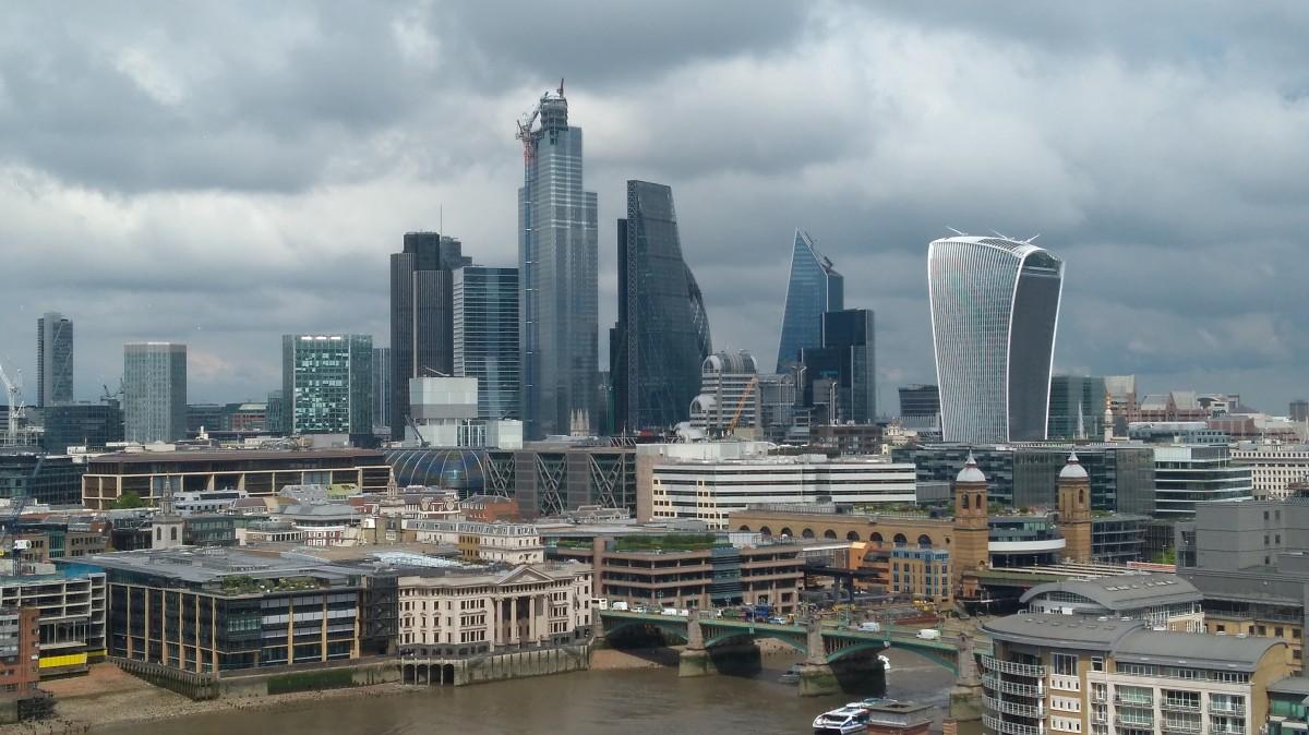 Zdjęcia: ., Londyn, Ponad dachami, WIELKA BRYTANIA