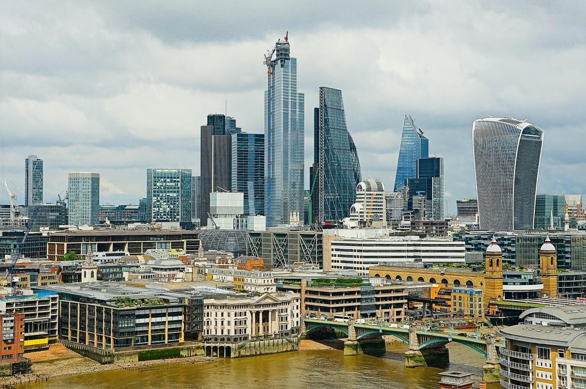 Zdjęcia: Z tarasu Tate Modern, Londyn, Coraz wyżej, WIELKA BRYTANIA