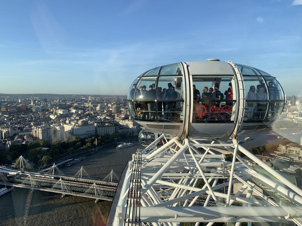 Zdjęcia: Londyn , Londyn , London eye, WIELKA BRYTANIA