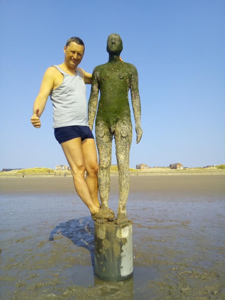 Zdjęcia: Liverpool, Merseyside, Crosby Beach, WIELKA BRYTANIA