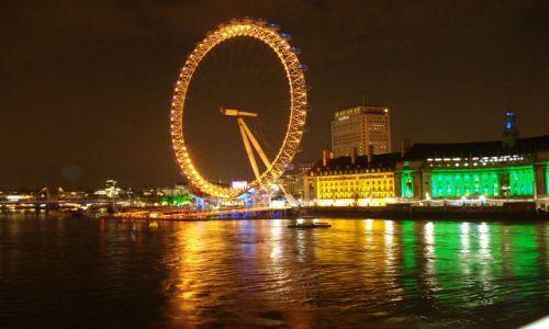 Zdjęcie WIELKA BRYTANIA / London / London / London Eye