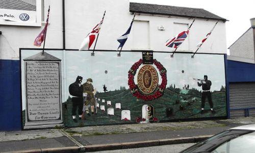 Zdjecie WIELKA BRYTANIA / brak / Belfast / Grafitti w Belfaście