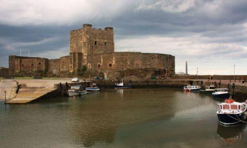 Zdjecie WIELKA BRYTANIA / Irlandia Północna / Carrickfergus / Zamek w Carrickfergus'