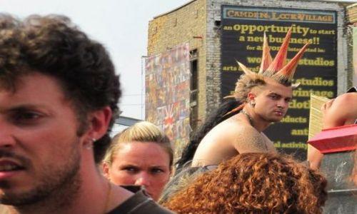 Zdjecie WIELKA BRYTANIA / Londyn / Camden Town / KONKURS-twarze