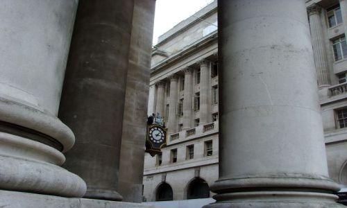Zdjecie WIELKA BRYTANIA / Bank - City of London / London / Czas