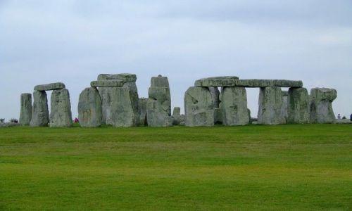 Zdjecie WIELKA BRYTANIA / Salisbury / stonehenge / Kto zostawił tu