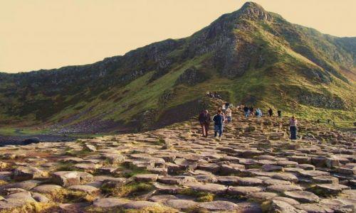 WIELKA BRYTANIA / Irlandia Północna / hr. Antrim/Giant's Causeway / Giant's Causeway