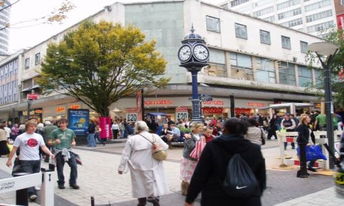 WIELKA BRYTANIA / West Midlands / centrum miasta / moje miasto Birmingham