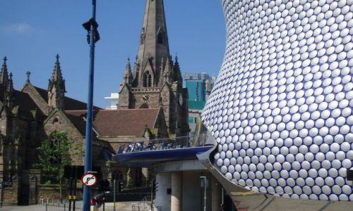 Zdjecie WIELKA BRYTANIA / West Midlands / centrum miasta / moje miasto Birmingham