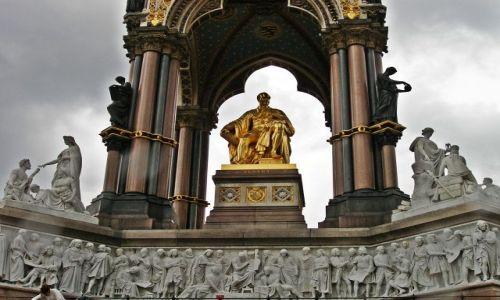 WIELKA BRYTANIA / Londyn / Kensigton Gardens / Książę Albert