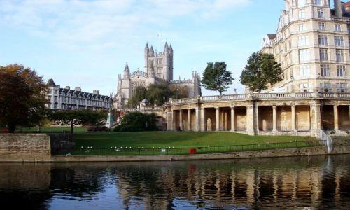 Zdjęcie WIELKA BRYTANIA / Poludniowa Anglia  / centrum historycznego miasta / Bath
