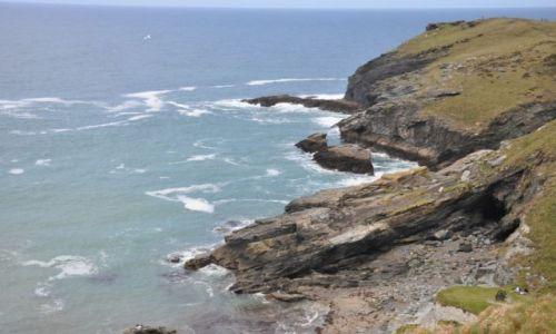 Zdjecie WIELKA BRYTANIA / - / Tintagel Castle & Marlin's Cave  / Tintagel