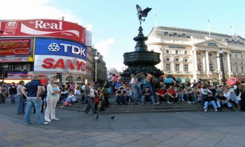 Zdjecie WIELKA BRYTANIA / - / Londyn / Piccadilly  Circus