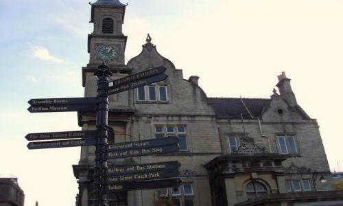 WIELKA BRYTANIA / Poludniowo -Zachodnia Anglia / centrum miasta / Bath