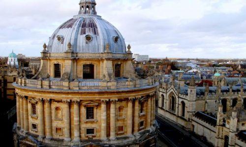 WIELKA BRYTANIA / Srodkowo-Poludniowa Anglia / centrum miasta / Oxford