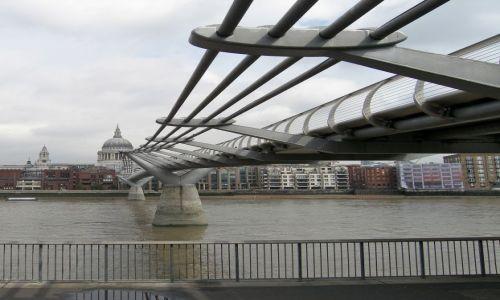 Zdjecie WIELKA BRYTANIA / - / Londyn / Most Milenijny