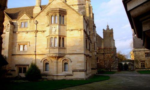 WIELKA BRYTANIA / Srodkowo-Poludniowa Anglia  / historyczne centrum miasta / Oxford