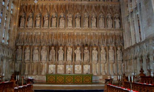 WIELKA BRYTANIA / Poludniowo-Srodkowa Anglia / historyczne centrum miasta / Oxford-2