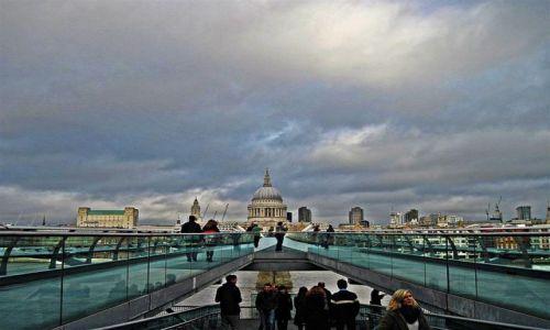 Zdjęcie WIELKA BRYTANIA / LONDYN / LONDYN / MILENIJNY  MOST