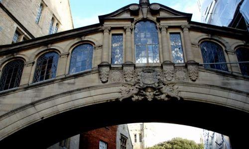 Zdjecie WIELKA BRYTANIA / Poludniowo-Srodkowa Anglia / centrum miasta / Oxford