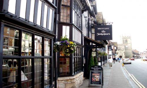 WIELKA BRYTANIA / Midlands -hrabstwo Warwickshire / centrum miasta / Stratford-upon-Avon