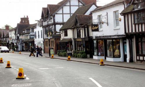 WIELKA BRYTANIA / Midlands-Srodkowa Anglia  / centrum miasta / Stratford