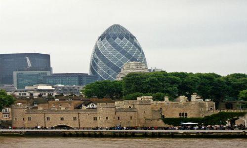 Zdjęcie WIELKA BRYTANIA / - / Londyn / Tower i City