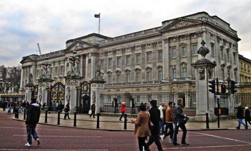 Zdjecie WIELKA BRYTANIA / LONDYN / LONDYN / POD  BUCKINGHAM  PALACE