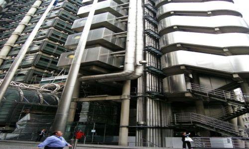 WIELKA BRYTANIA / Londyn / City / Budynek Lloyda