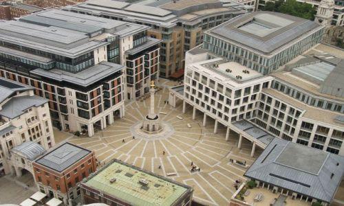 Zdjecie WIELKA BRYTANIA / Londyn / Paternoster Square  / Z góry
