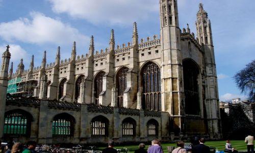WIELKA BRYTANIA / hrabstwa Cambridgeshire -poludniowa Anglia / historyczne centrum Cambridge / Cambridge