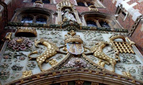 Zdjęcie WIELKA BRYTANIA / hrabstwa Cambridgeshire -poludniowa Anglia / historyczne centrum Cambridge / Cambridge