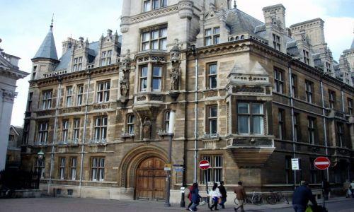 WIELKA BRYTANIA / Poludniowa Anglia  / centrum miasta / Cambridge