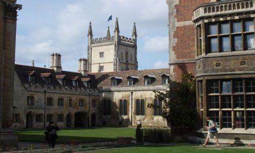WIELKA BRYTANIA / Poludniowa Anglia / centrum Cambridge / Cambridge