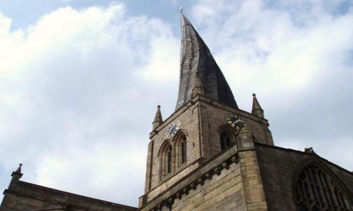 WIELKA BRYTANIA / Wschodnia -Srodkowa Anglia (East Midlands) / miasteczko Chesterfield / Chesterfield