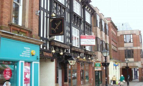 WIELKA BRYTANIA / Srodkowo-Wschodnia Anglia  / miasteczko Chesterfield / Chesterfield