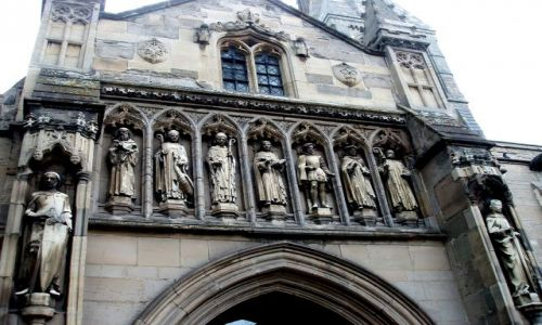 Zdjecie WIELKA BRYTANIA / East  Midlands / Katedra St Martin`s  / Leicester