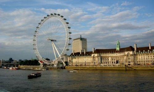 Zdjecie WIELKA BRYTANIA / - / Londyn / London Eye