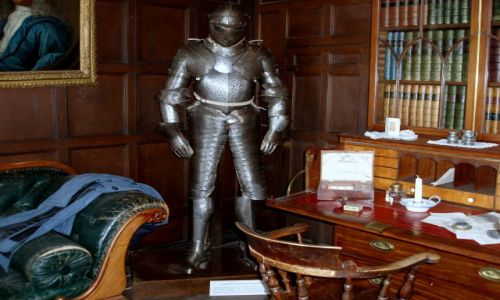 WIELKA BRYTANIA / Srodkowa Anglia-Midlands / zamek Tamworth / Tamworth