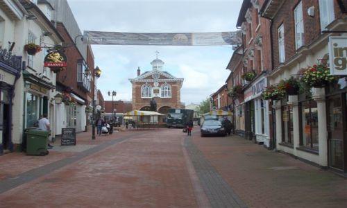 WIELKA BRYTANIA / Srodkowa Anglia - Midlands / miasto Tamworth / Tamworth