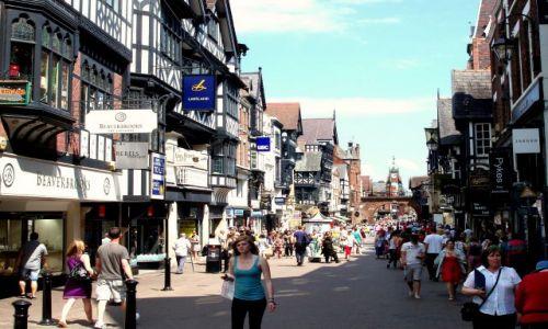 WIELKA BRYTANIA / Polnocno -zachodnia Anglia / miasto Chester / Chester - Anglia