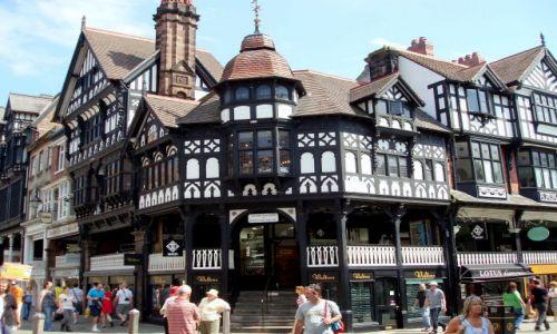 WIELKA BRYTANIA / Polnocno-Zachodnia Anglia / centrum miasta Chester / Chester