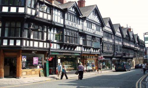Zdjecie WIELKA BRYTANIA / Polnocno-Zachodnia Anglia / miasto Chester / Chester