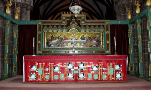 Zdjecie WIELKA BRYTANIA / Polnocno-zachodnia Anglia / katedra w Chester / Chester-katedra