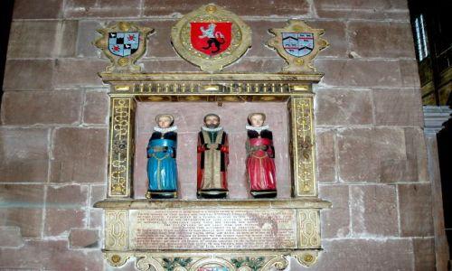 WIELKA BRYTANIA / Polnocno-zachodnia Anglia / katedra w Chester / Chester