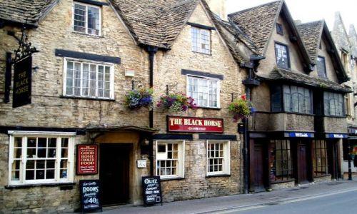 Zdjęcie WIELKA BRYTANIA / Cotswold / miasteczko Cirencester / Cirencester-Anglia